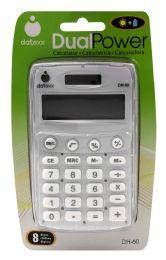 8 Units of Datexx Dual Power Calculator - Calculators