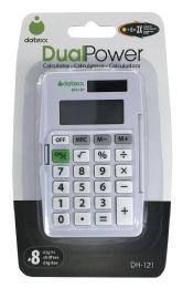 10 Units of Datexx Dualpower Calculator 8 Digits - Calculators