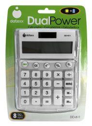 8 Units of Datexx Dualpower Calculator - Calculators