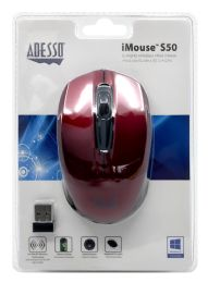 4 Units of Adesso Imouse S50 2. 4Ghz Wireless Mini Mouse - Computer Accessories