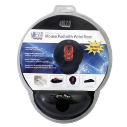 4 Units of Mouse Pad W/Memry Fm Wrist Rst - Computer Accessories