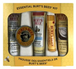 6 Units of Essential Burt'S Bees Kit - Bath And Body