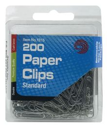 24 Units of Ava 200 Paper Clips Standard - Paper clips