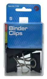 12 Units of Ava Binder Clips 5 - Binders
