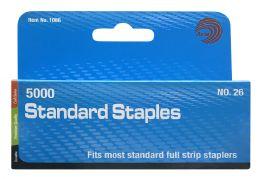12 Units of Avantix 5000 Standard Staples - Staples & Staplers