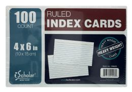 24 Units of Ischolar New York Ruled Index Cards - Dividers & Index Cards