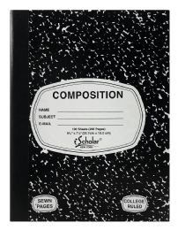 12 Units of Ischolar Composition - Note Books & Writing Pads