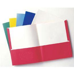 96 Units of 2 Pocket Portfolio Asst Letter - Office Accessories