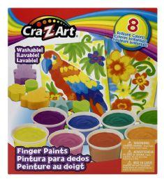 4 Units of CrA-Z-Art Washable! Finger Paints - Art Paints