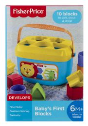 4 Units of FisheR-Price Baby's First Blocks - Baby Toys