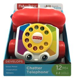 4 Units of Fisher-Price Chatter Telephone - Baby Toys