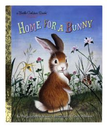 4 Units of A Liitle Golden Book Classic Home For A Bunny - Books