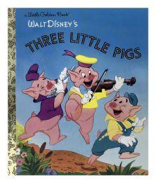 4 Units of Walt Disney's A Little Golden Books - Books