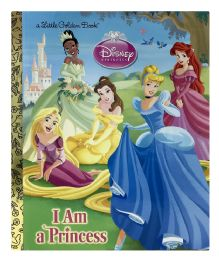 4 Units of A Little Golden Book Disney Princess I Am A Princess - Books