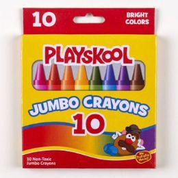 48 Units of Playskool Crayons 10ct Jumbo - Crayon