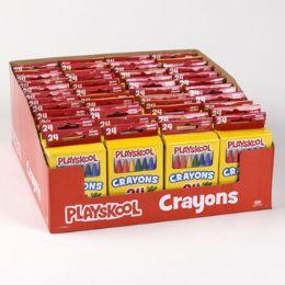 48 Units of Playskool Crayons 24ct - Crayon