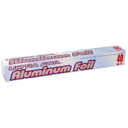 50 Units of Aluminum Foil 40 Sq Feet - Baking Supplies