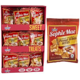 48 Units of Candy Peanut Brittle Bites - Food & Beverage