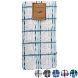 72 Units of Kitchen Towel 18x25 Yarn Dyed Asst Patterns Peggable See n2 - Kitchen Towels