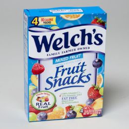20 Units of Welchs Fruit Snack 4ct 0.9 oz - Food & Beverage