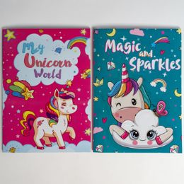 24 Units of Coloring Book Unicorns In Pdq - Coloring & Activity Books