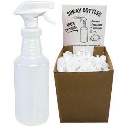 126 Units of Spray Bottle 32 Oz W/adjustable Sprayer In Flr Disp Ea W/upc - Spray Bottles