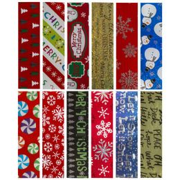 """66 Units of Gift Wrap Foil Xmas 30 Width"""" 20 Sq Ft Ppd $3.99 On 1.5 Core"""" - Gift Wrap"""