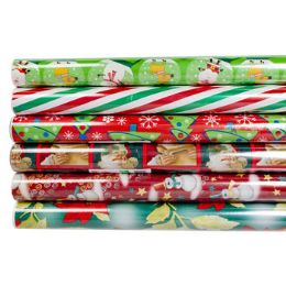 60 Units of Gift Wrap Christmas 30 Sq ft - Gift Wrap
