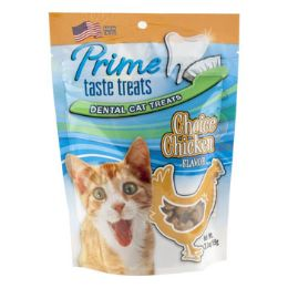 6 Units of Cat Treats Choice Chicken Flavor - Pet Chew Sticks and Rawhide