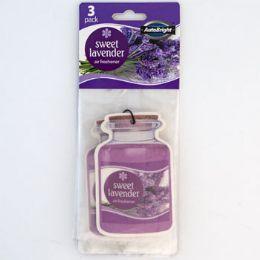 36 Units of Air Freshener 3pk Sweet Lavender - Air Fresheners