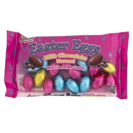 24 Units of Easter Candy Chocolate Flav Eggs - Food & Beverage