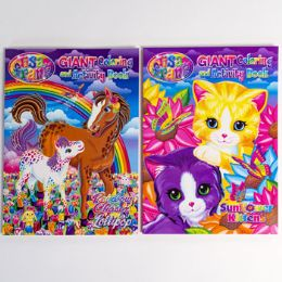 24 Units of Coloring Book Lisa Frank Giant - Coloring & Activity Books