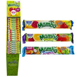 72 Units of Candy Mamba Chews 2.80 oz - Food & Beverage