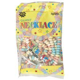 12 Units of Candy Necklace 2.9 Oz Peg Bag - Food & Beverage