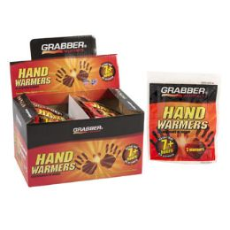 320 Units of Warmers Hand 2pk Grabber 8 - 40pc Display Box 7 Hours - Pain and Allergy Relief