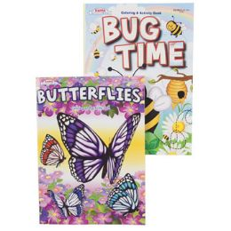 96 Units of Coloring Book Bug Time 2 Asst - Coloring & Activity Books