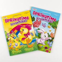 96 Units of Color/activity Book Spring - Coloring & Activity Books