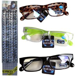 72 Units of Eyeglasses Blue Light Blockers - Eyeglass & Sunglass Cases