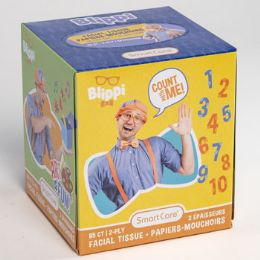 24 Units of Facial Tissue 85 Count Blippi - Skin Care