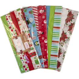 36 Units of Tissue Paper Deluxe 50sht Xmas - Party Paper Goods
