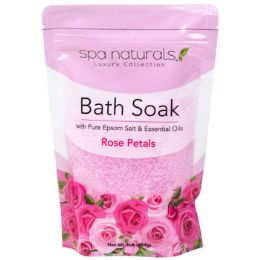 12 Units of Bath Soaks Rose Petals - Bath And Body