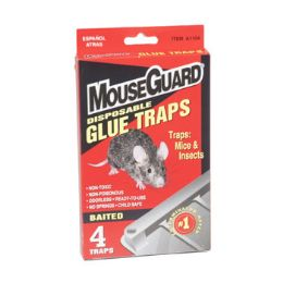 24 Units of Mouse Glue Traps 4pk - Hardware
