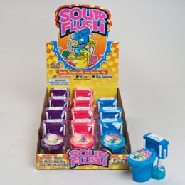 144 Units of Candy Plungers & Sour Powder - Food & Beverage