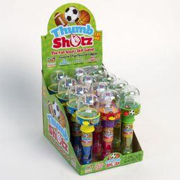 144 Units of Candy Thumb Shotz Lollipop - Food & Beverage