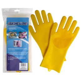 18 Units of Gloves 1 Pair Silicone Palm - Kitchen Gloves