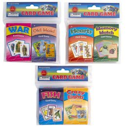 72 Units of Card Game 3ast 2pk OldmaiD-War/ - Card Games
