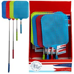 24 Units of Fly Swatter Jumbo Telescopic - Hardware