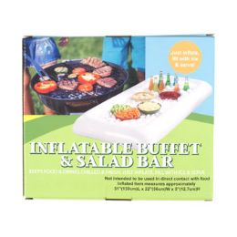 12 Units of Inflatable Salad Bar Buffet 51x22x5in Color Boxed - Inflatables