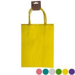36 Units of Gift Bag 2pk Med Kraft Paper - Gift Bags Assorted