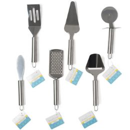 72 Units of Kitchen Gadgets 6ast S/s Tube Handle B&c ht - Home & Kitchen